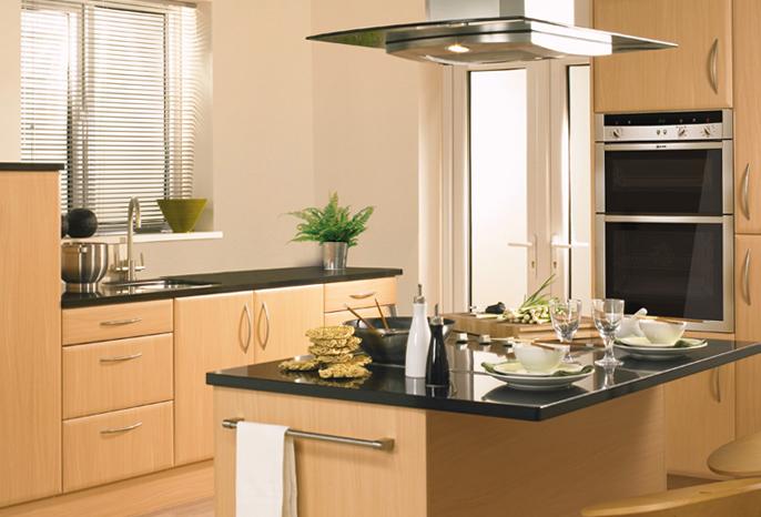 Geneva Beech Kitchen Interior Designs North East