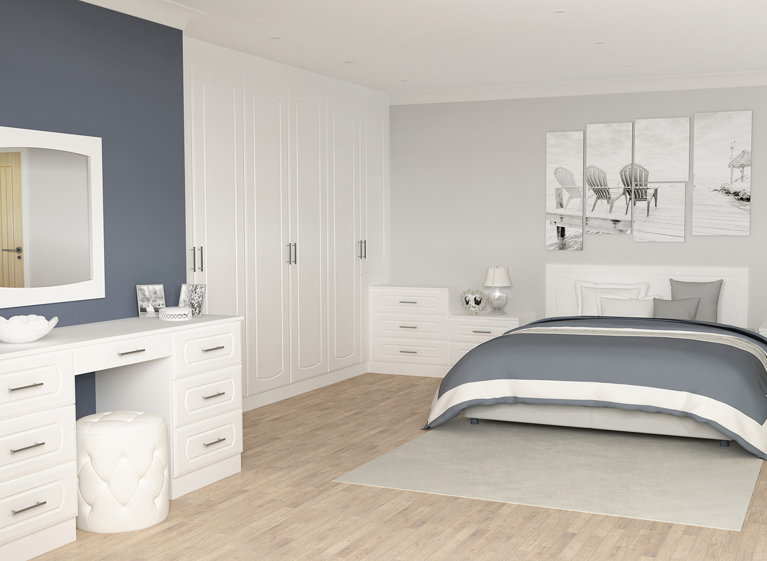 White oak Chester Bedroom Furniture