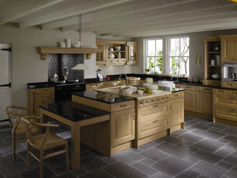Cornell Oak And Sanded Kitchen Interior Designs North East