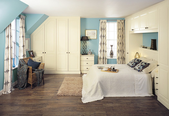 Glendale vanilla text fitted bedroom interior designs for Bedroom designs n colours