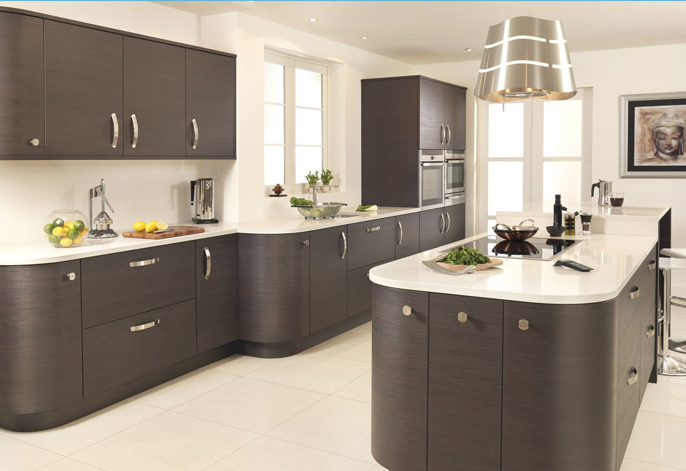 Charming Charmant Premier Rift Oak Kitchen Interior Designs North East
