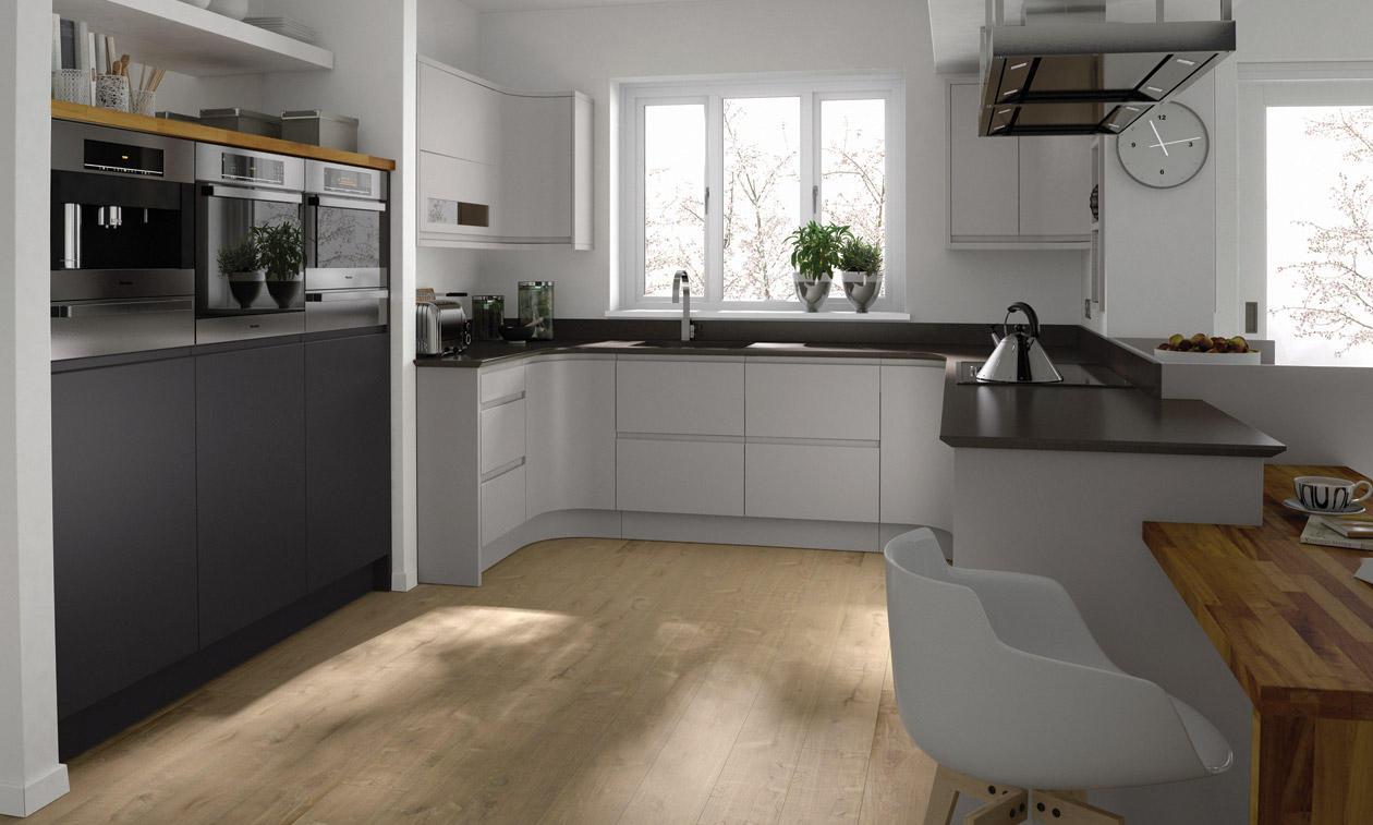 Handless Kitchen Collection Matt Gloss Paint To Order