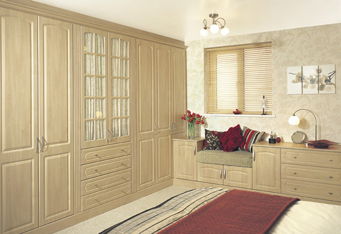 York swiss pear fitted bedroom furniture interior for Bedroom designs n colours